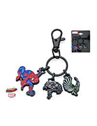 Marvel Spider-Man & Villains Stainless Steel Keychain w/Gift Box by Superheroes Brand