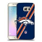 Official NFL Stripes Denver Broncos Logo Hard Back Case for Samsung Galaxy Note5 / Note 5