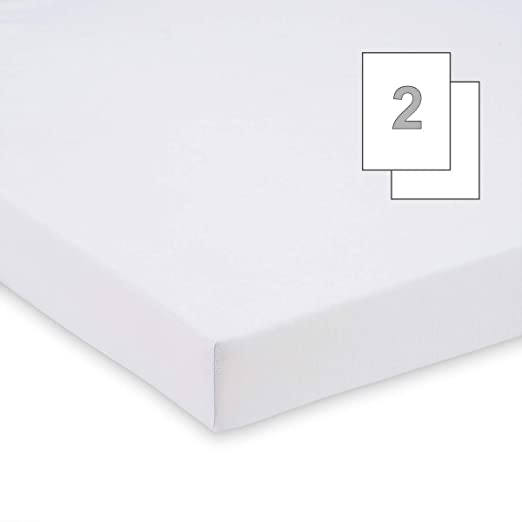 FabiMax 3904 Beistellbett BASIC wei/ß Matratze COMFORT und Nestchen Sterne klein wei/ß inkl