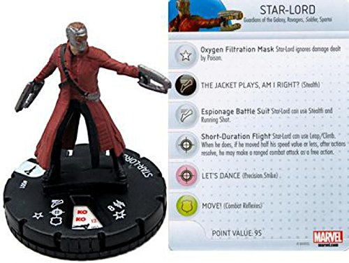 HeroClix Marvel Guardians of the Galaxy Star-Lord #001
