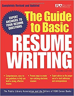 The Guide To Basic Resume Writing Public Library