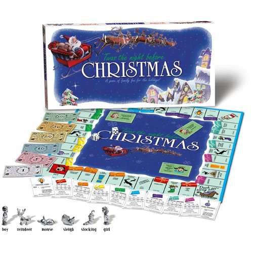 Amazon.com: TWAS THE NIGHT BEFORE CHRISTMAS Board Game: Toys & Games