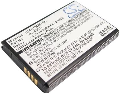 VN251 vn360 vn251s Replacement Battery for LG A340 EAC61638202 Cosmos 3 Wine III BL-46CN Cosmos 2