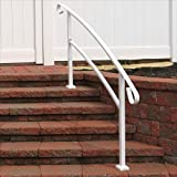 Railing Now - Canyon 5FT Transitional Handrail (White)