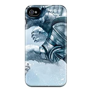 High-end Cases Covers Protector For Iphone 6(golden Compass Bear Fight)