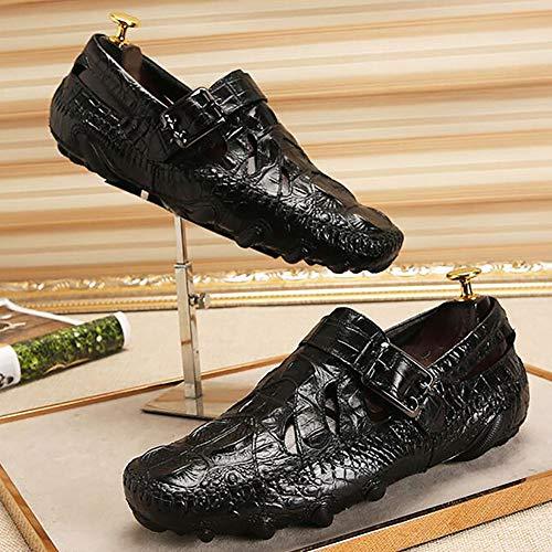 Chaussures Automne Hommes Out Cuir Paresseux Chaussures De Chaussures Pour De Hommes Printemps Les Bureau De Creux Carrière Driving 42 Respirant Et Pois De Les A Chaussures aw7tqp7Xx