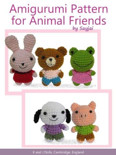 Amazon Amigurumi Pattern For Animal Friends Easy Crochet Doll