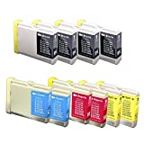 Green Project B-LC51 10 Pack Brother Compatible Ink Cartridges Replaces Brother LC51 Ink