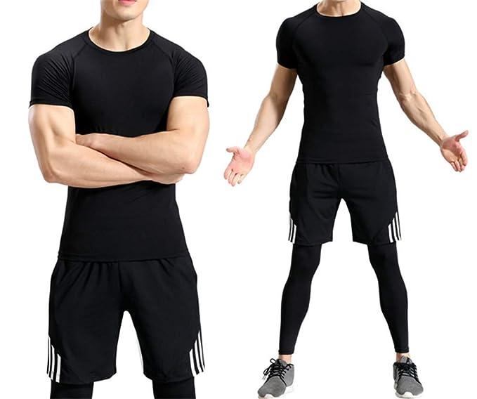 Amazon.com: Camiseta de secado rápido para entrenamiento ...