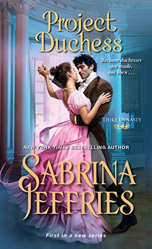 Book cover from Project Duchess (Duke Dynasty) by Sabrina Jeffries