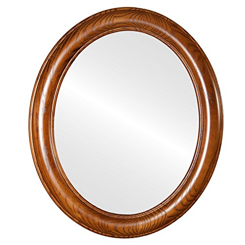 Oval And Round Mirrors Oval Flat Mirror with Toasted for sale  Delivered anywhere in USA