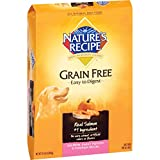 Nature's Recipe Grain Free Easy to Digest Salmon, Sweet Potato & Pumpkin Recipe Dry Dog Food, 24-Pound