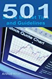 501 Stock Market Tips and Guidelines, Arshad Khan, 0595227740