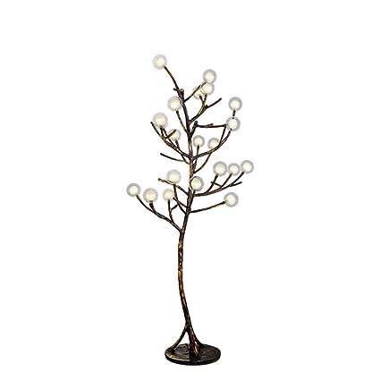 Amazon Com Led Floor Lamp Standing Resin Creative Tree