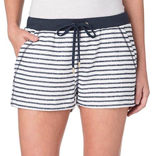 Michael Kors Womens Stripe Rib Waistband Shorts, (Michael Michael Kors Womens Stripe Pant)