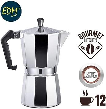 Cafetera aluminio 12 tazas: Amazon.es: Bricolaje y herramientas