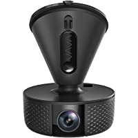 VAVA Dash Cam 2K with OV4689 CMOS Sensor, Wi-Fi Car DVR for 2560x1440 30fps Clear FHD Videos, Visible License Plate, G-Sensor, iOS & Android App, On-site Instant Social Media Sharing