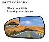 Pass Power Heated Mirror Glass Replacement for