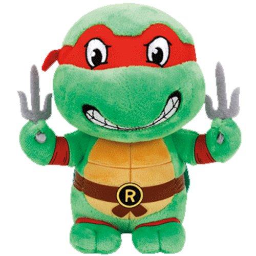 [Ty Teenage Mutant Ninja Turtles Raphael Mask, Red, Regular] (Raphael Ninja Turtles)