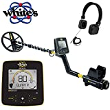 Whites MX Sport Waterproof Metal Detector with 10' DD Coil and Headphones