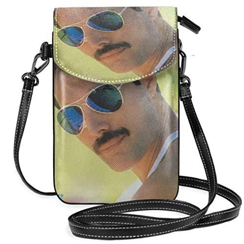 - Package Freddie Mercury Mr Bad Guy Roomy Pockets Series Crossbody Bags Cell Phone Purse Wallet for Women Black