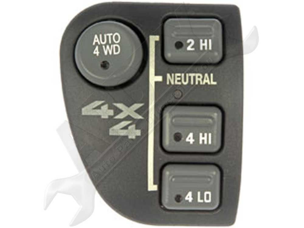 APDTY 012171 4WD Four Wheel Drive Selector Switch Dash Mounted w// 4-Wheel Auto