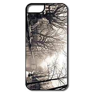 PTCY IPhone 5/5s Personalized Cool City Mist Winter