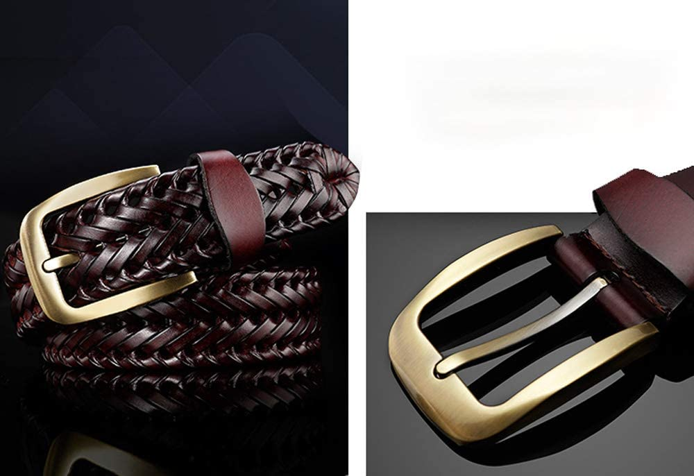 XHHWZB Ms Mens Belt Casual Braided Elastic Fabric Woven Stretch Elasticated Belts