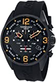 Torgoen Swiss Men's T18301 T18 Series Classic Black Aviation Watch