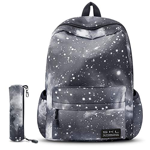 School Backpack for Girls, Water Resistant Durable Casual Schoolbag Bookbag for Middle School Students