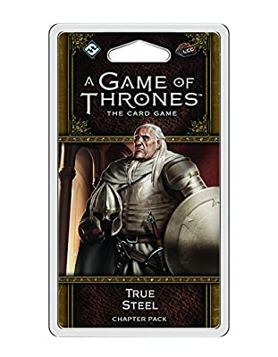 A Game of Thrones LCG 2nd Edition: True Steel Card Game from Fantasy Flight Publishing