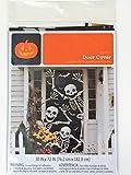 Skeleton Door Cover - Halloween Wall Decoration