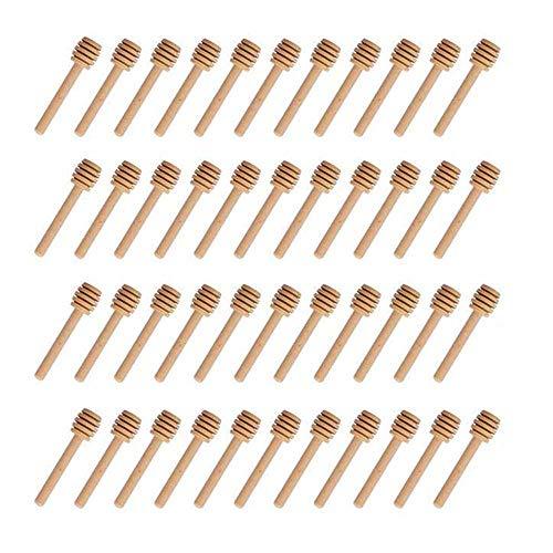 XelparucTS – Mini palitos de madera, palitos mieleros, dispensador para tarros de miel, como regalos de la fiesta de…