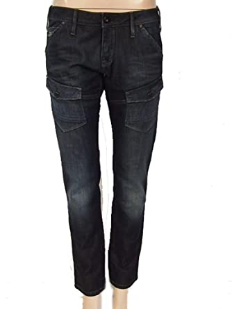 Amazon wmn jeans uk Clothing tapered elwood co storm G star women's H4WUyp6T