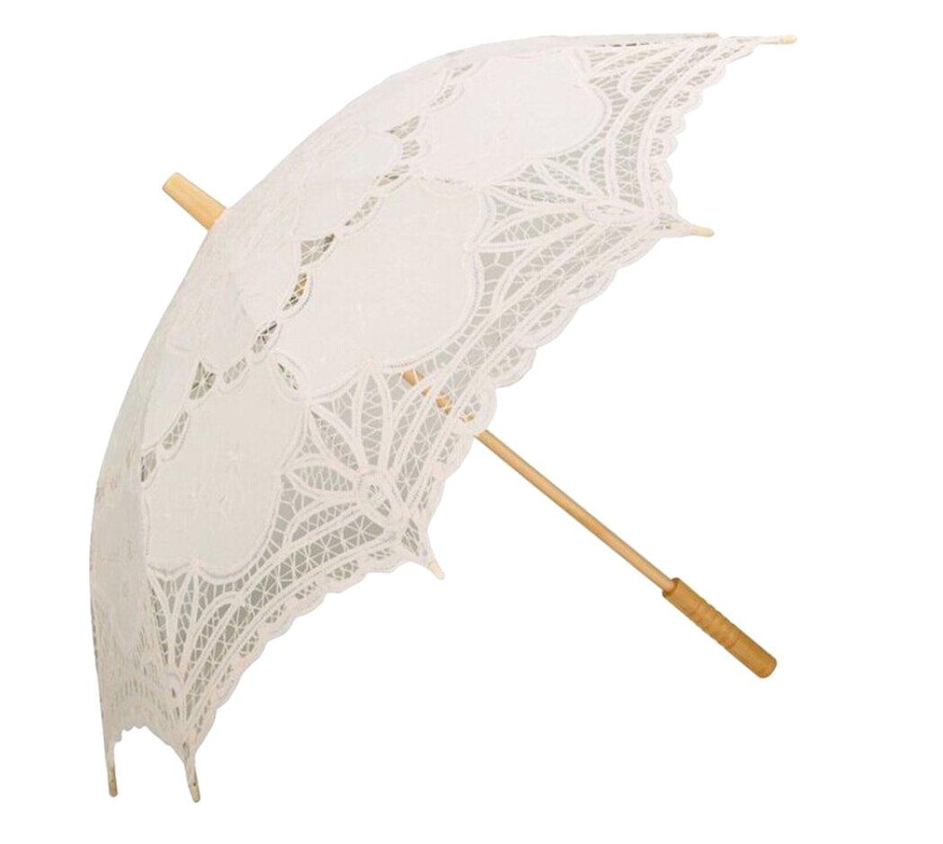 Paraguas Boda, Coofit Sombrilla Encaje Paraguas Novia Sombrillas ...