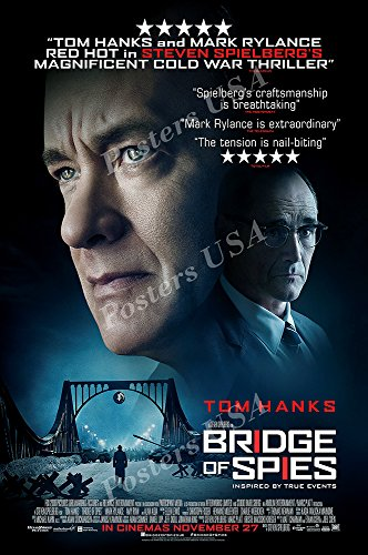 Posters USA Bridge of Spies Movie Poster GLOSSY FINISH - MOV535 (24