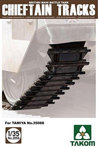 British Tank Battle Main (Takom 1/35 British Main Battle Tank Chieftain Tracks for Tamiya No. 35068 No. 2059 by TAKom)