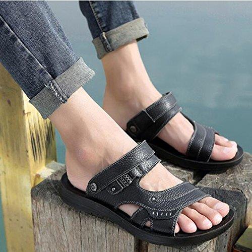 Flip Flop Da Slip Walking Pantofole HGDR Traspirante Summer Sandali Fisherman Scarpe Black Spiaggia On Uomo Da Sandals FnvvHP