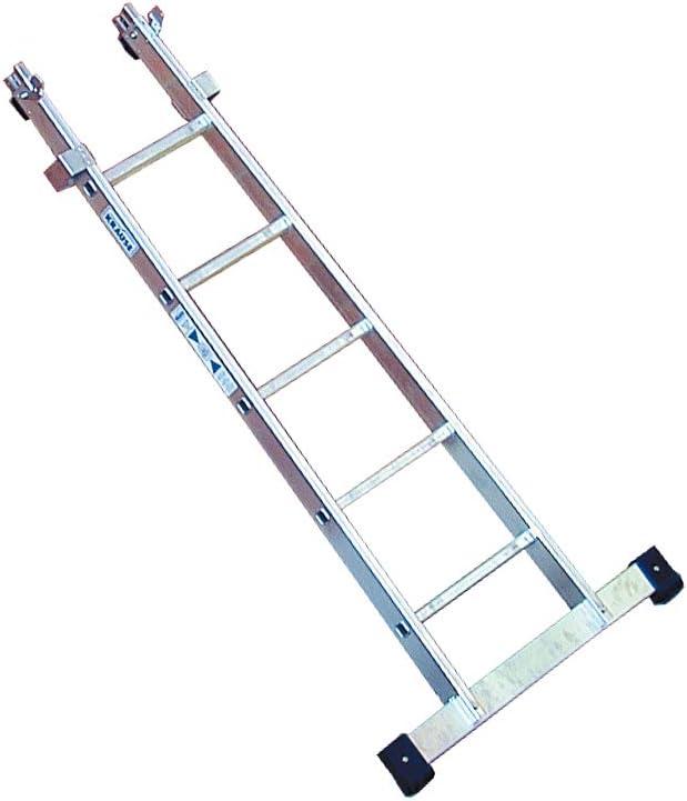 KRAUSE Escalera de limpieza de cristales KRAUSE parte inferior 1x5 Spr.: Amazon.es: Bricolaje y herramientas