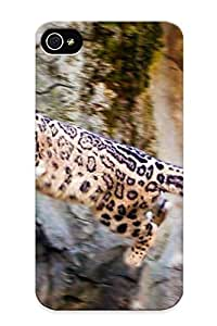 Perfect Fit GfEcUqB993OAdhk Jumping Leopard Case For Iphone - 4/4s by icecream design