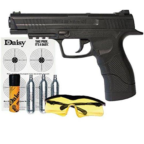 408 8-Shot BB or Pellet C02 Semi-Automatic Pistol Kit ()