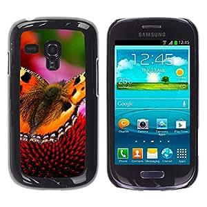 iBinBang / Funda Carcasa Cover Skin Case - Mariposa floral de la primavera la naturaleza de verano - Samsung Galaxy S3 MINI NOT REGULAR! I8190 I8190N