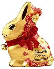 Lindt Conejo De Chocolate Con Leche De Oro Para Las Flores Pascua 100G