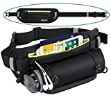 EooCoo fanny pack running Hidden Reflective Hiking strip belt bag Waist pack