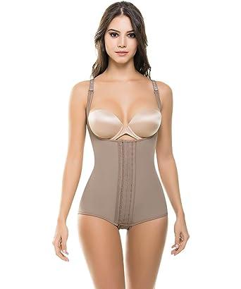 06cf3b3cfa Fajate Colombian Shapewear 472 473 Post Surgery Compression Garment 3 Hooks  Ultra Slimming Body Shaper