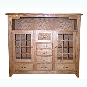 Build Your Own Mission Buffet Plan   American Furniture Design
