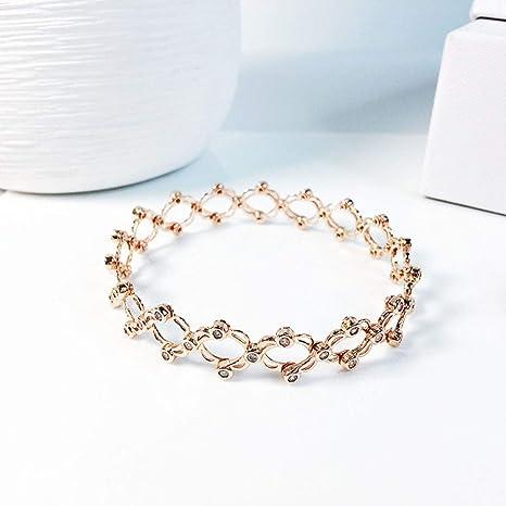 bracelet avec bague en argent