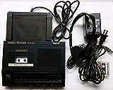 Transcriptor para microcassette Sanyo TRC 5040 Memoscriber con interruptor de pie, adaptador CA, auriculares