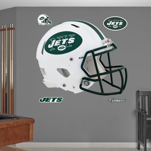 FATHEAD NFL New York Jets Helmet Wall Graphics
