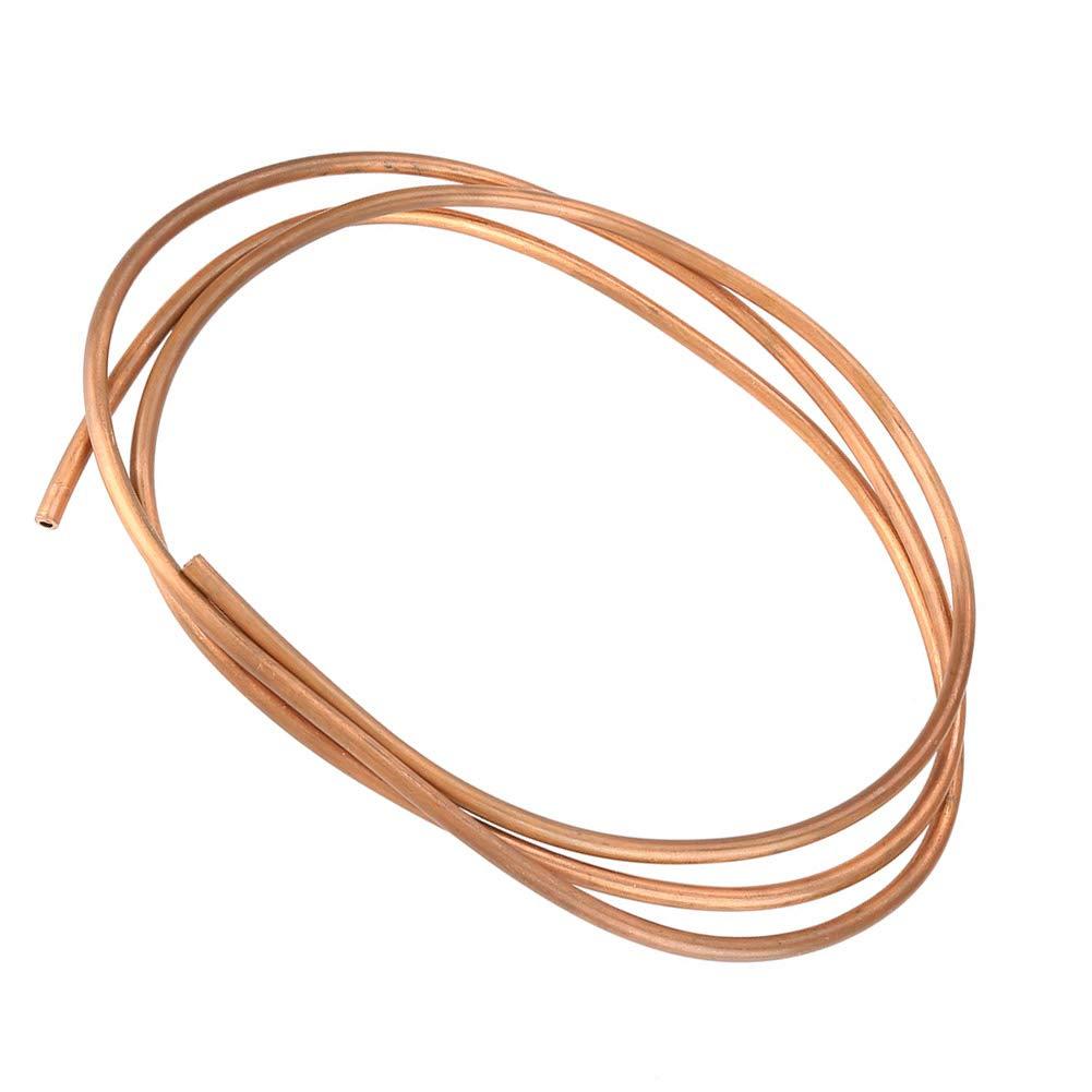 adecuado para gene el tubo de refrigeraci/ón El tubo de cobre blando el tubo redondo de cobre se pueden convertir en productos semiacabados y productos terminados mediante forjado en fr/ío y caliente